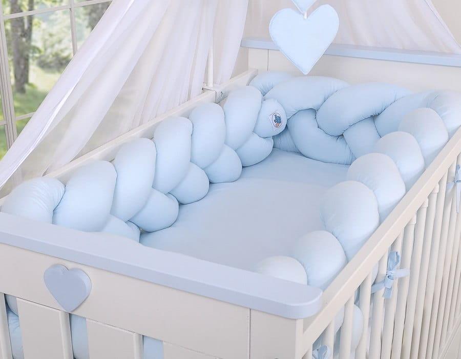 Ochraniacze do łóżeczka